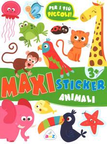 Animaletti. Maxi sticker. Con adesivi. Ediz. a colori.pdf