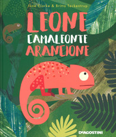 Copertina  Leone camaleonte arancione