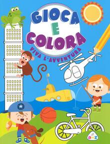 Filippodegasperi.it Vivi l'avventura. Gioca e colora. Ediz. a colori Image