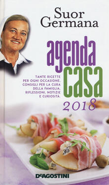 L' agenda casa di suor Germana 2018 - Germana (suor) - copertina