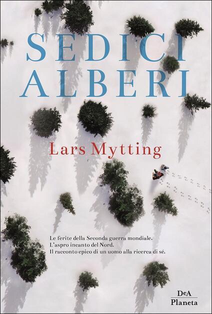 Sedici alberi - Lars Mytting - copertina