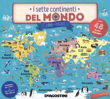 Steamcon.it I sette continenti del mondo. Ediz. a colori. Con puzzle Image