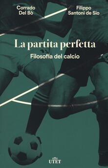 Amatigota.it La partita perfetta. Filosofia del calcio. Con ebook Image
