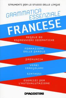 Antondemarirreguera.es Grammatica essenziale. Francese Image