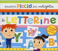 Lpgcsostenible.es Piccini Picciò in valigetta. Le letterine. Ediz. a colori. Con puzzle Image