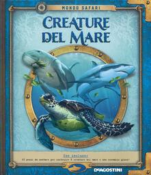 Adiaphora.it Creature del mare. Mondo safari. Con gadget Image