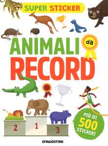 Winniearcher.com Animali da record. Super sticker. Ediz. a colori Image