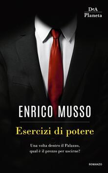 Esercizi di potere - Enrico Musso - copertina