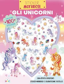 Winniearcher.com Gli unicorni. Sticker morbidosi. Con adesivi. Ediz. a colori Image