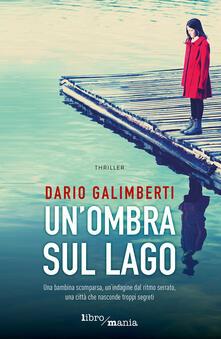 Un' ombra sul lago - Dario Galimberti - copertina