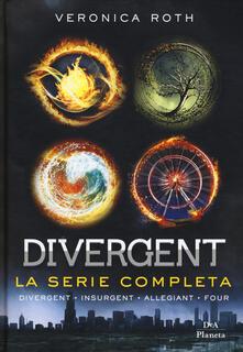 Divergent. La serie: Divergent-Insurgent-Allegiant-Four - Veronica Roth - copertina