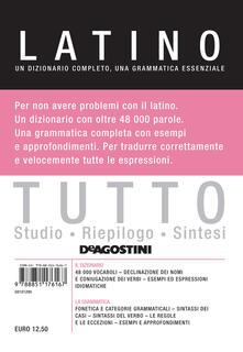 Tutto latino. Un dizionario completo, una grammatica essenziale.pdf