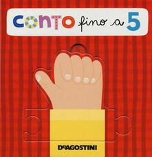 Cocktaillab.it Conto fino a 5. Libro puzzle. Ediz. a colori Image