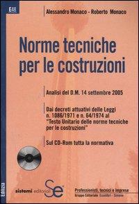 Norme tecniche per le costruzioni. Con CD-ROM