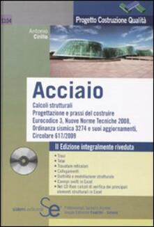 Librisulladiversita.it Acciaio. Con CD-ROM Image
