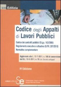 Codice degli appalti di lavori pubblici