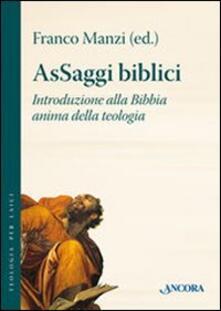 AsSaggi biblici. Introduzione alla Bibbia anima della teologia.pdf