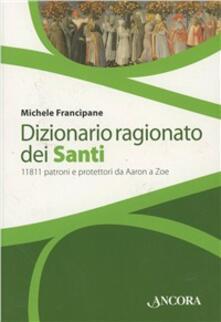 Radiospeed.it Dizionario ragionato dei santi Image