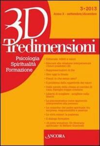 Tredimensioni. Psicologia, spiritualità, formazione (2013). Vol. 3