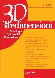 Tredimensioni. Psicologia, spiritualità, formazione (2016). Vol. 3