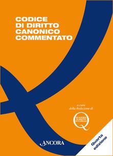 Codice di diritto canonico commentato - copertina