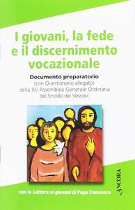 I giovani, la fede e il discernimento