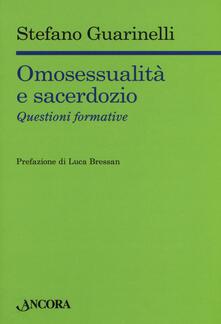 Winniearcher.com Omosessualità e sacerdozio. Questioni formative Image