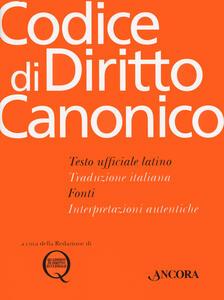 Libro Codice di diritto canonico
