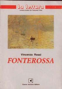 Libro Fonterossa Vincenzo Rossi