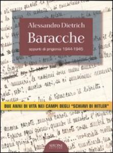Baracche. Appunti di prigionia 1944-1945