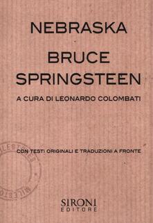 Ristorantezintonio.it Bruce Springsteen. Nebraska Image