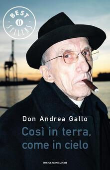 Così in terra, come in cielo - Andrea Gallo - ebook