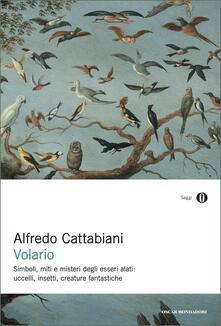 Volario. Simboli, miti e misteri degli esseri alati: uccelli, insetti e creature fantastiche - Alfredo Cattabiani - ebook