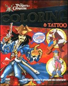 Squillogame.it Pirati dei Caraibi. Coloring & tattoo Image