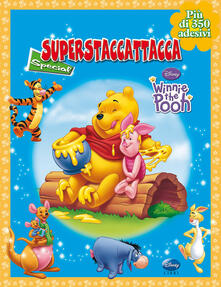 Promoartpalermo.it Winnie the Pooh. Superstaccattacca Special. Con adesivi Image