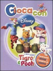 Radiospeed.it I miei amici Tigro e Pooh. Con adesivi. Ediz. illustrata Image