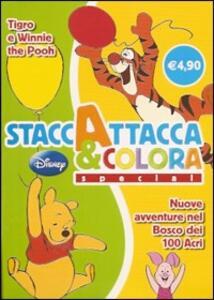 Tigro e Winnie the Pooh. Nuove avventure nel bosco dei 100 acri. Staccattacca e colora special