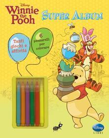 Equilibrifestival.it Winnie the Pooh. Super album. Ediz. illustrata. Con gadget Image