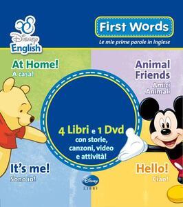 First words. Le mie prime parole in inglese. Ediz. bilingue. Con DVD