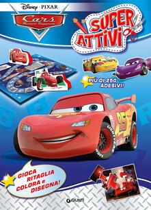 Camfeed.it Cars. Motori ruggenti. Superattivi. Con adesivi. Ediz. illustrata Image