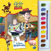 Voluntariadobaleares2014.es Toy Story. Libro acquerello. Ediz. illustrata. Con gadget Image
