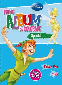 Primo album da colorare special. Peter Pan e Trilli