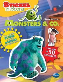 Monsters Inc. Sticker in scena. Con adesivi. Ediz. illustrata.pdf