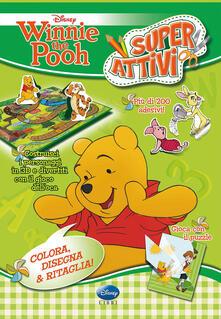 Winnie the Pooh. Superattivi. Con adesivi. Ediz. illustrata - copertina