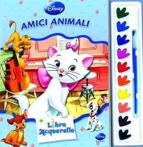 Amici animali. Libro acquerello. Ediz. illustrata. Con gadget