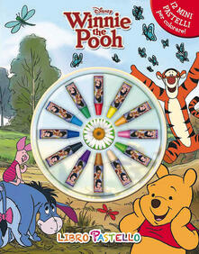 Osteriacasadimare.it Winnie the Pooh. Libro pastello. Ediz. illustrata. Con gadget Image
