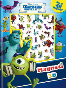 Antondemarirreguera.es Monsters University. Con magneti 3D. Ediz. illustrata Image
