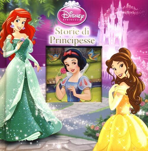 Conosciuto Storie di principesse. Disney princess - Libro - Disney Libri - | IBS ZP91