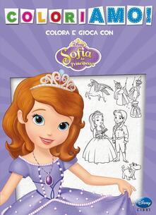 Associazionelabirinto.it Coloriamo! Sofia la principessa. Ediz. illustrata Image