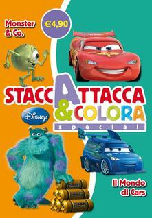 Monster & Co-Il mondo di Cars. Staccattacca e colora special. Con ade sivi. Ediz. illustrata.pdf